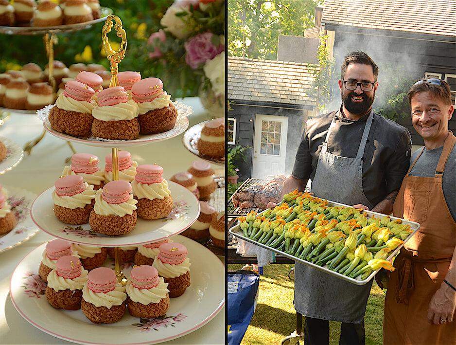 English Garden Party Wine Pairing Chef Darren Brown