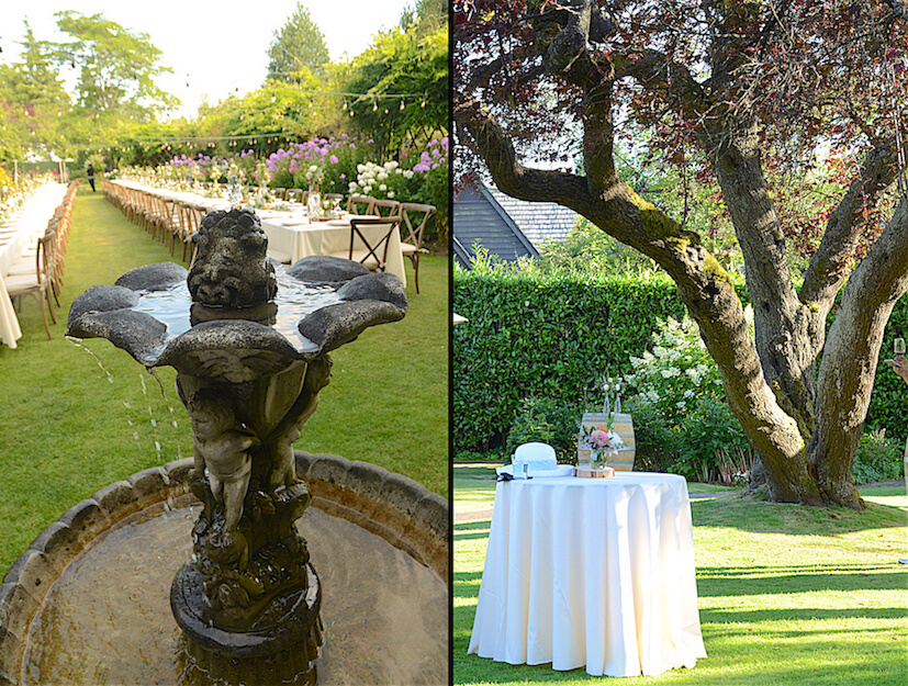English Garden Party Wine Pairing Vancouver