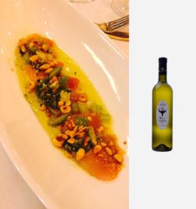 Italian Showcase Dinner Albacore Tuna Crudo