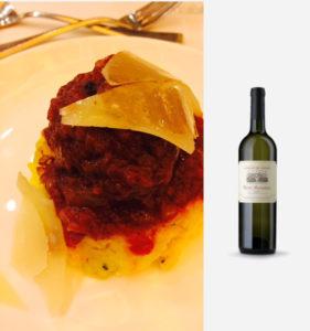 Italian Showcase Dinner Risotto Al Salto