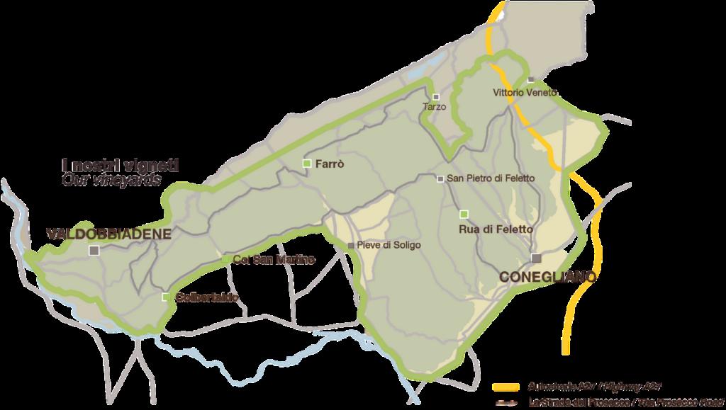 Mapa Vigneti Trasparente